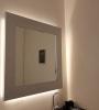 Spiegelverlichting met ledstrips