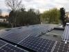 Zonnepanelen plat dak Flat fix Fusion draagsysteem